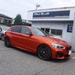 「BMW118i ハイスパークイグニッションコイル for 1.6THP + Tuned NGK-Premium RX 交換 & HighSparkケーブル × HighSparkポジティブターミナル取付です。」
