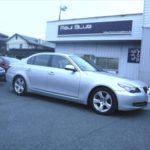 「BMW525i HIGHSPARKイグニッションコイル + ノイズリダクションケーブル + ターミナル + EXケーブル取付 & MFA充填などです。」